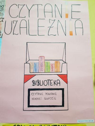 Konkurs Na Plakat Promujący Bibliotekę I Czytelnictwo